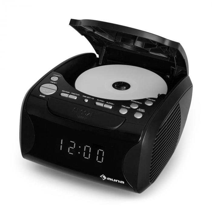 Dreamee USB CD Radio Alarm USB CD MP3 Black