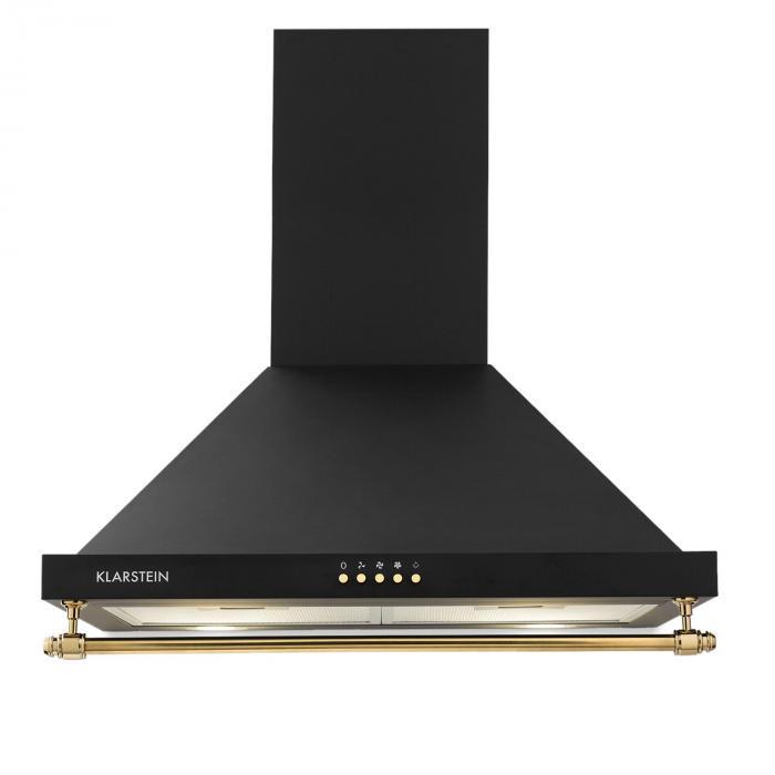 Montblanc liesituuletin 610m³/h 165W 2x1,5W LED kaide musta