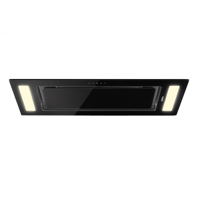 Remy liesituuletin tason alle asennettava 90 cm energiatehokkuusluokka A 620 m³/h kosketuspaneeli LED lasia
