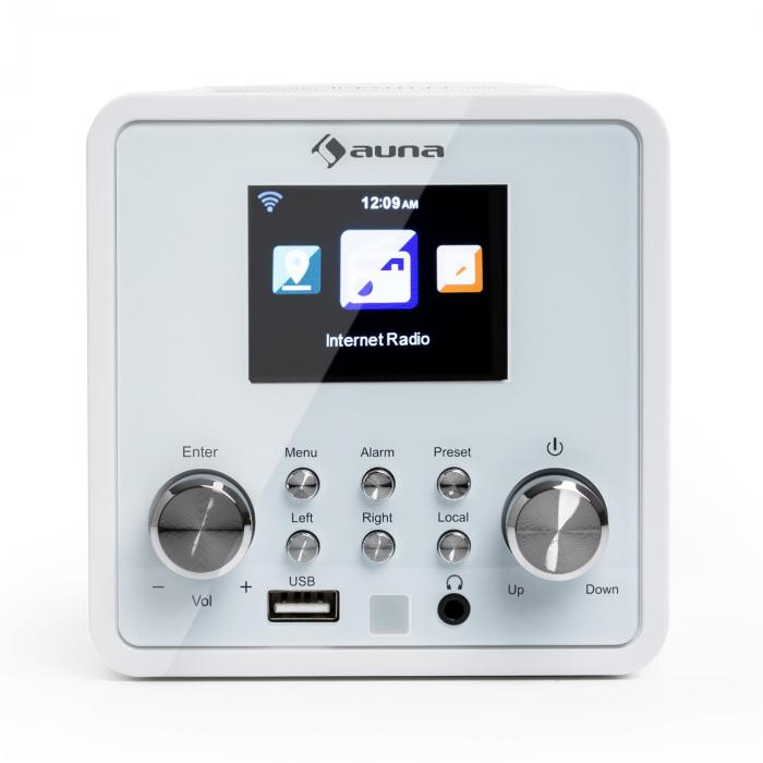 IR-120 Internet Radio WLAN DNLA UPnP App Control White