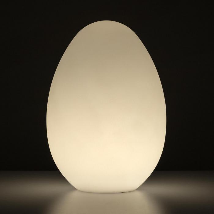 Eggy Lampada LED Stazione di Carica Induttiva Polietilene Telecomando IP65