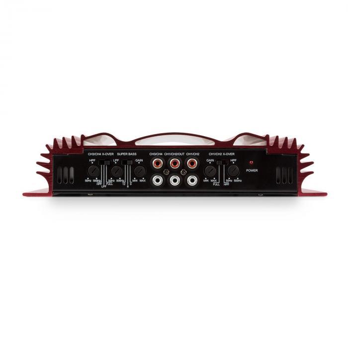 """Car Hifi Set """"Dresden"""" 2.1 Sistema de Amplificadores 1600W Bass Reflex"""