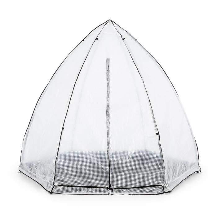 greenshelter l berwinterungszelt 340x280cm stahlrohr. Black Bedroom Furniture Sets. Home Design Ideas