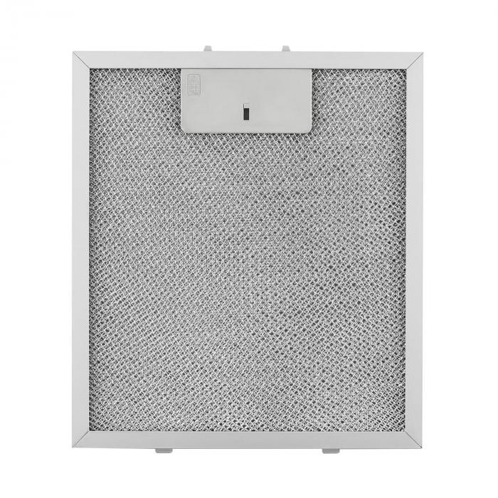 Alumiinirasvasuodatin 23 x 26 cm varasuodatin vaihtosuodatin lisävaruste