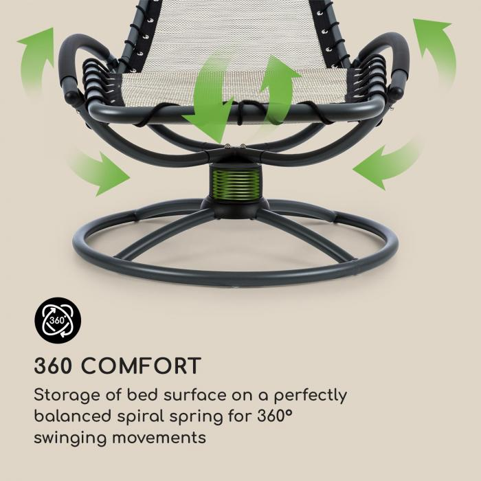 The Chiller Liggstol 77x85x173cm 360 Comfort ComfortMix beige
