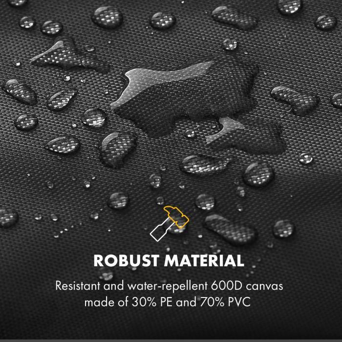 Tomahawk 3.0 Cover Wetterschutzhaube 600D Canvas 30/70% PE/PVC schwarz