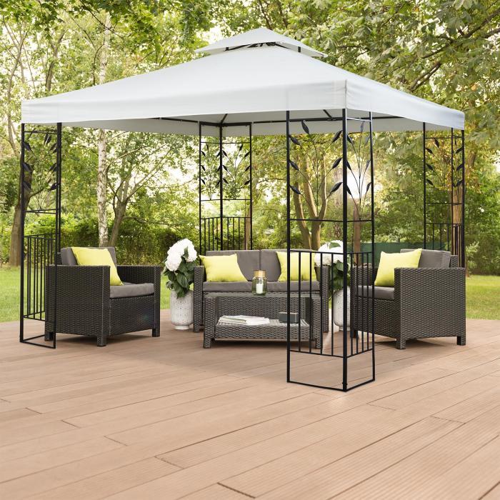 odeon roof beige ersatzdach f r odeon pavillon 3x3 m beige. Black Bedroom Furniture Sets. Home Design Ideas