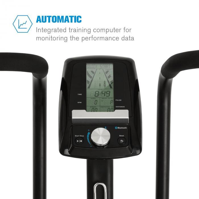 Strike Bike Ventilation Resistance Training Computer Bt