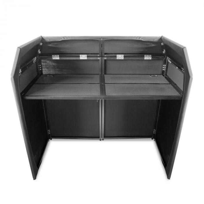 DB3 Pro DJ Booth System DJ stand vouwbaar inclusief lycra bedekking
