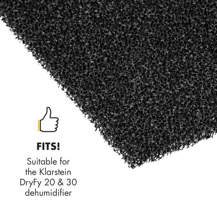 aktiivihiilisuodatin tuotteelle DryFy 20 & 30 ilmankuivaaja 20x23,1cm