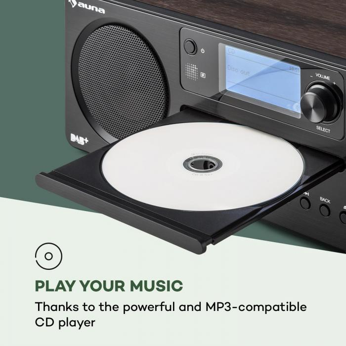 Worldwide CD Radio Internet Spotify Connect App Control Bluetooth Noce