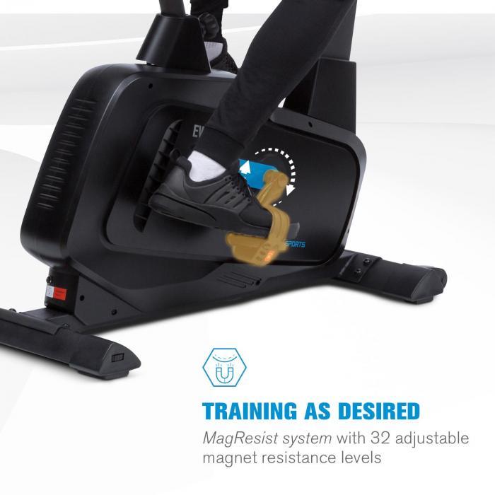 Evo Pro Cardiobike bluetooth sovellus 20kg liikemassa