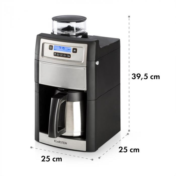 Aromatica II Thermo -kahvikone, jauhatus, 1,25 l, hopea