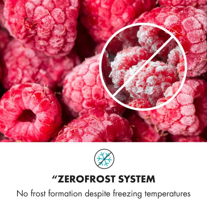 CoolZone Combinação de Frigorífico e Congelador integrado 241 litros A+ 41 dB branco