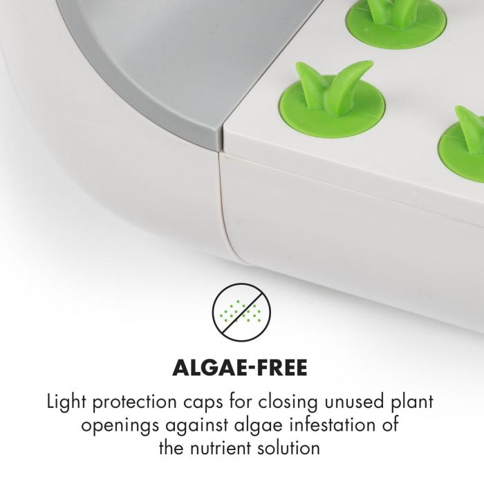 GrowIt Set di Accessori Ricambio 10 Cappucci di Protezione Luce