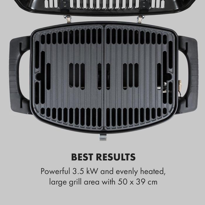 Parforce One 3,5kW 12000BTU 300°C InstantReady Concept schwarz