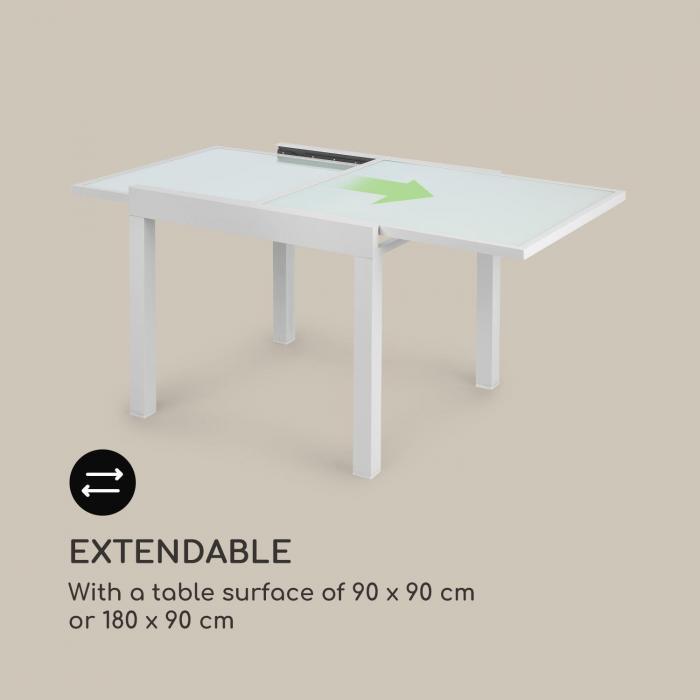 Pamplona Extension table de jardin