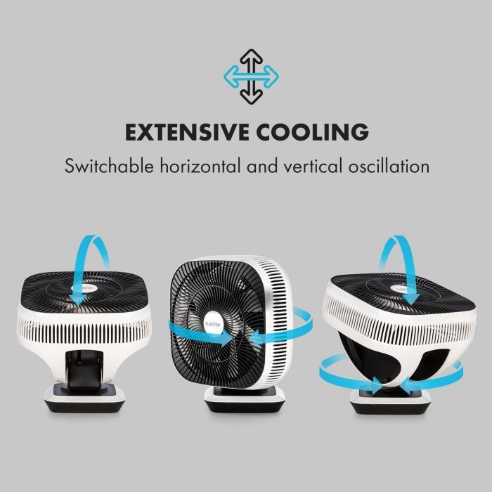 Windmaster Ventilatore 8 Velocità VarioFresh 3D 20dB bianco