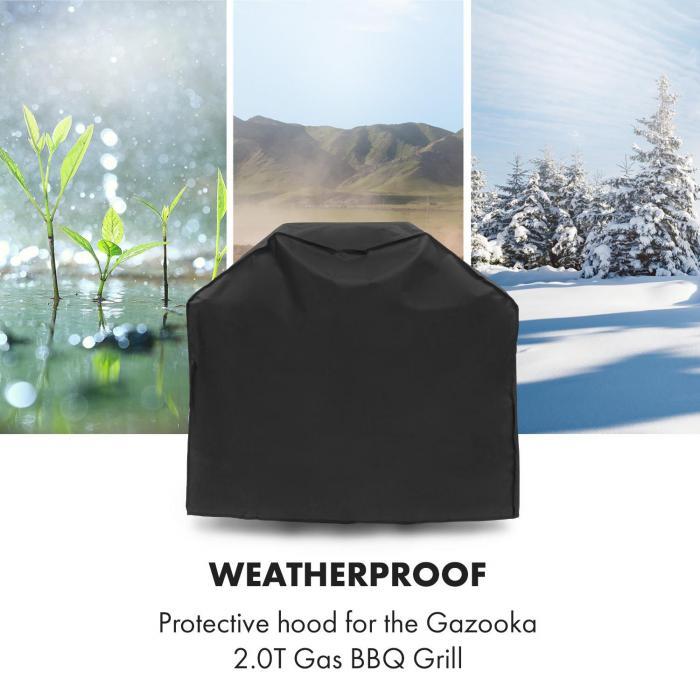 Gazooka 2.0T Wetterschutzhaube 600D Canvas 30/70% PE/PVC schwarz