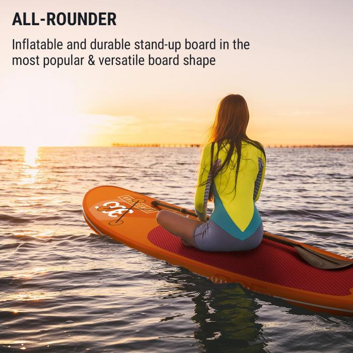 Spreestar Inflatable Paddle Board SUP Board Set 305x10x77 Orange
