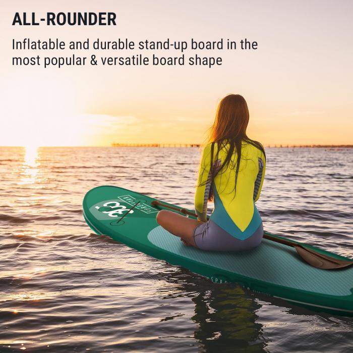 Spreestar aufblasbares Paddelboard SUP-Board-Set 305x10x77 türkis