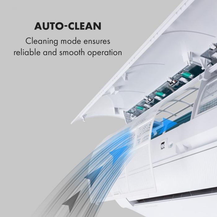 Windwaker Eco Split Air Conditioner 680 m³ / h 12,000 BTU / h (3516W) A ++
