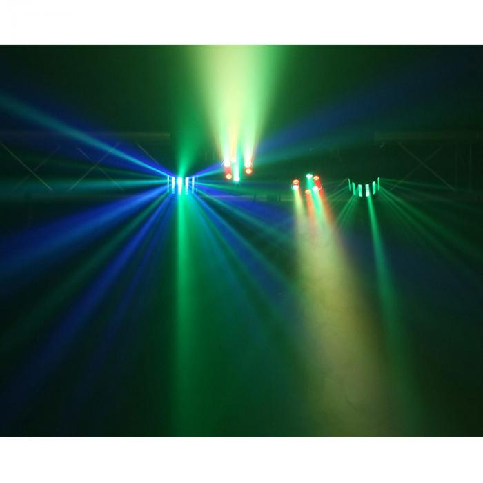 Partybar 2 Komplettlichtanlage 100W RGBW DMX/Standalone schwarz