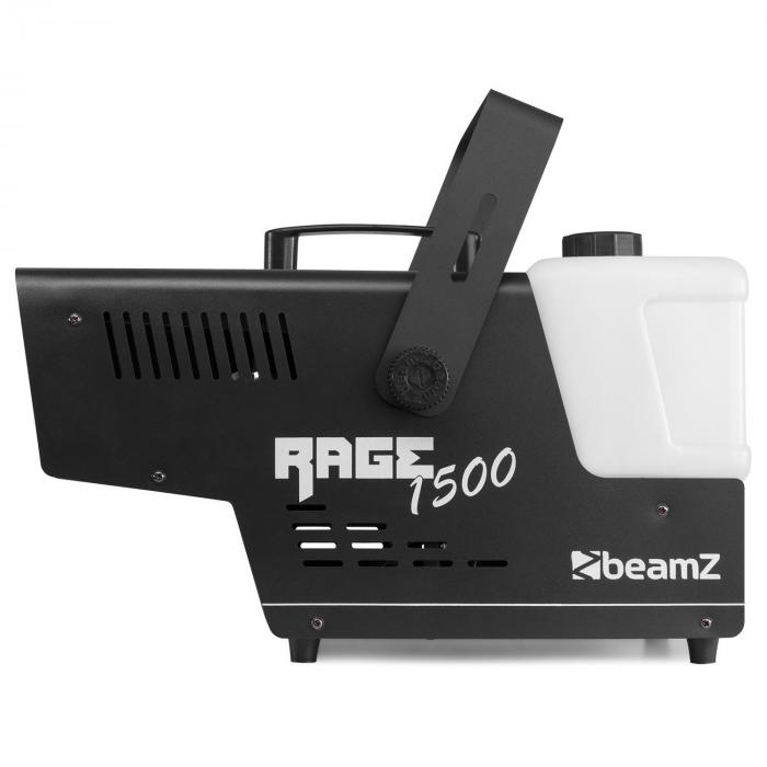 Rage 1500 LED Nebelmaschine 6 x 9W RGB-LED 1500W 350m³/min 3,5l Tank