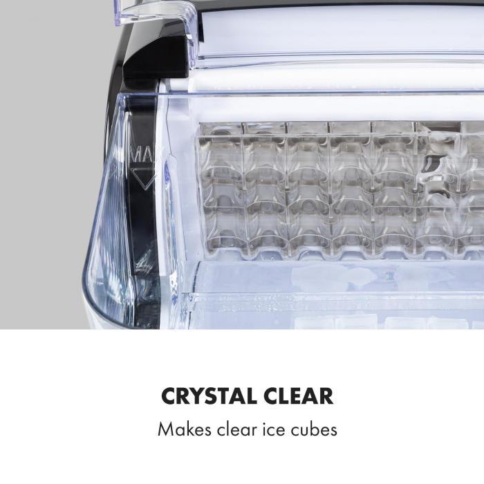 Kristall XL -jääpalakone kristallijää 2 jääpalakokoa 2,5 l vesisäiliö