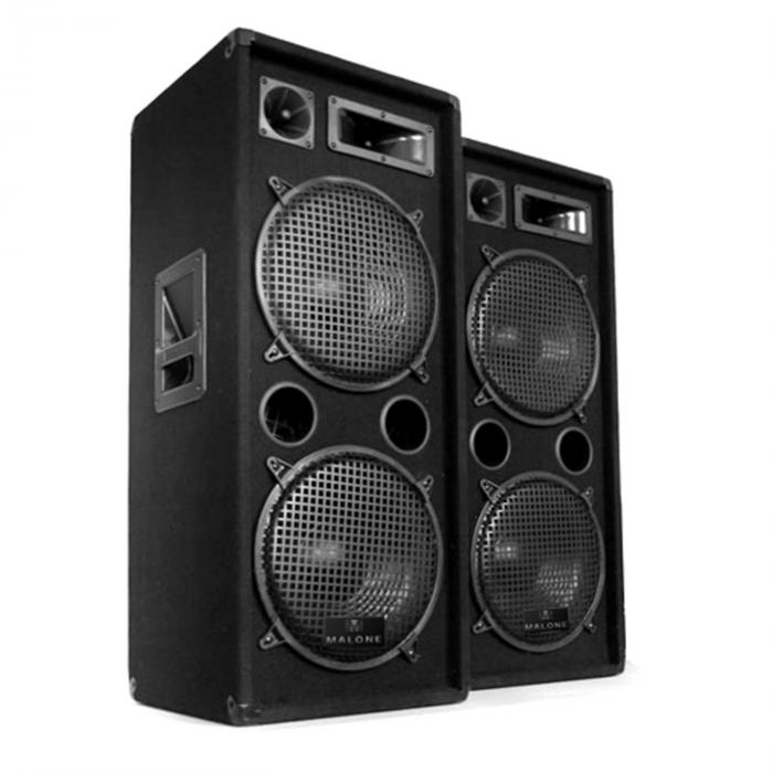 "Set audio ""Malone SPL bluetooth MP3""1500W"