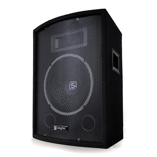 """Equipo PA """"Moscow Basspumpe""""2 altavoces 2 subwoofer 2200W"""