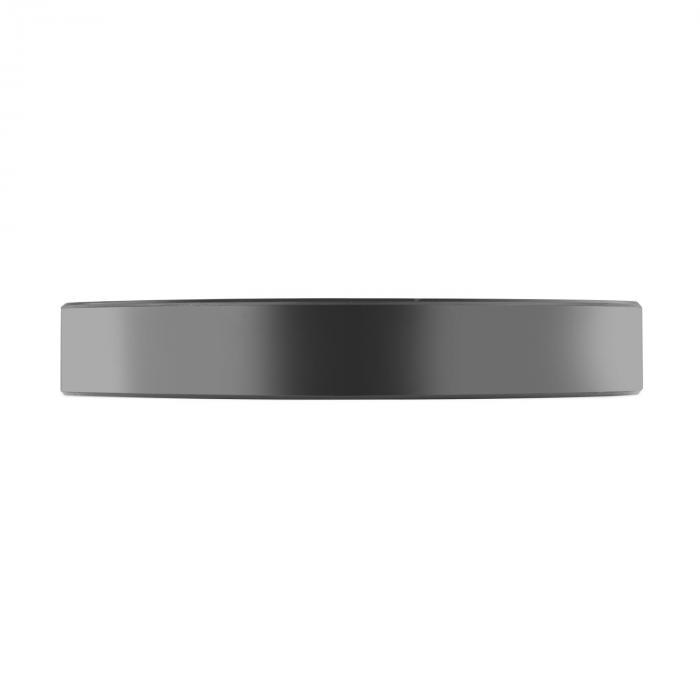 Elongate set Bumper Plate rubberen gewichtsschijven - 10x 20 kg
