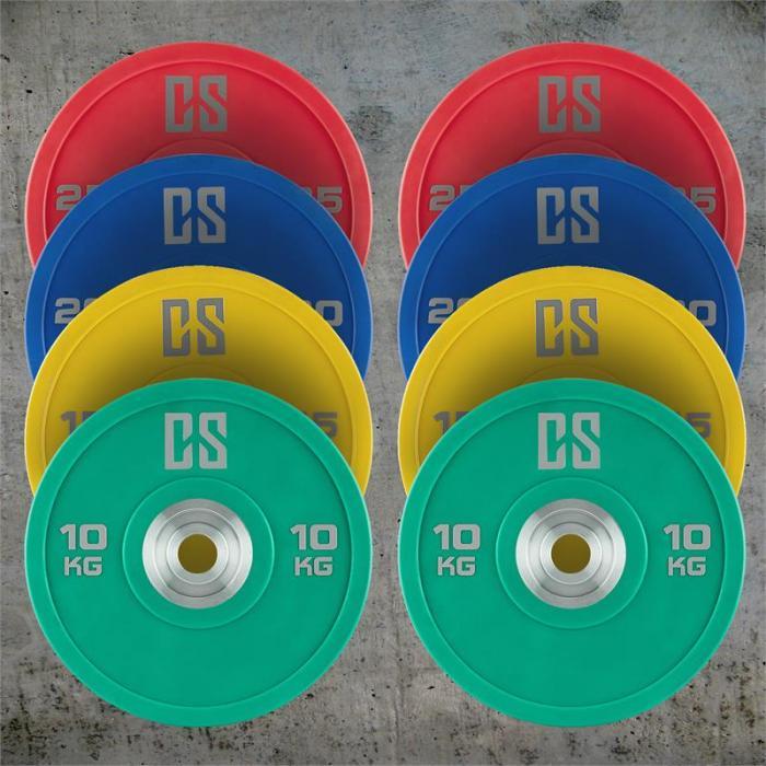 Performan levypainot koko sarja 4 paria 10 - 25 kg