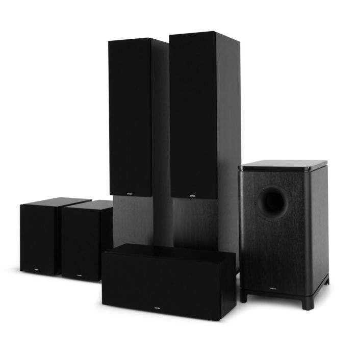 Reference 851 5.1 äänijärjestelmä musta sis. suojuksen musta