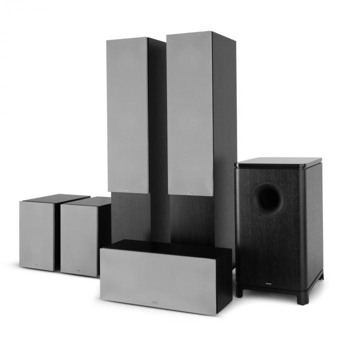 Reference 851 5.1-Soundsystem Nero inc. cover argento