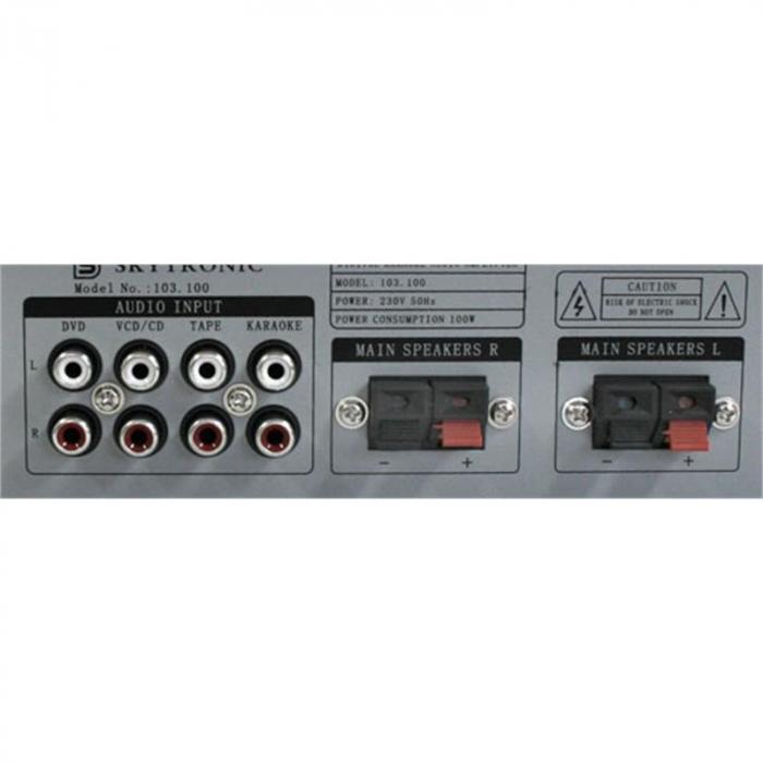 Hifi/pa/dj karaoke set 200W casse amplificatore 2 micro
