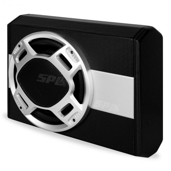 spl auto passiv subwoofer 25cm 10 bassbox passiv flach. Black Bedroom Furniture Sets. Home Design Ideas