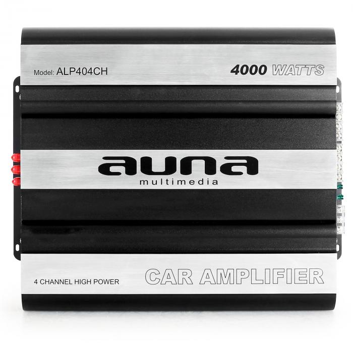 ALP404CH Auto-Endstufe Verstärker 640W RMS 4-Kanal MOSFET 4000W max. schwarz