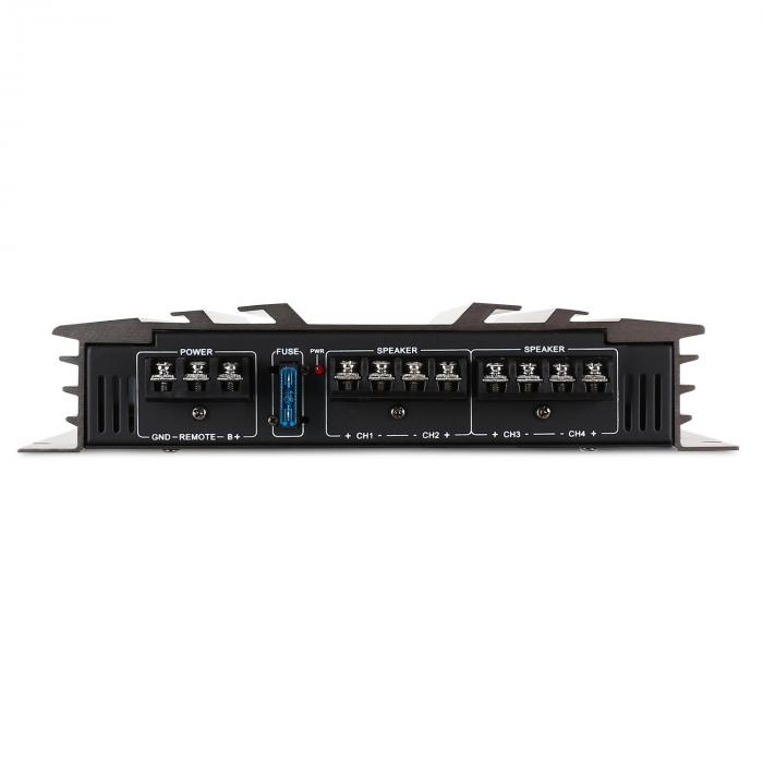 AB0450 4 Channel Car Amplifier 2400W PMPO Racing Design