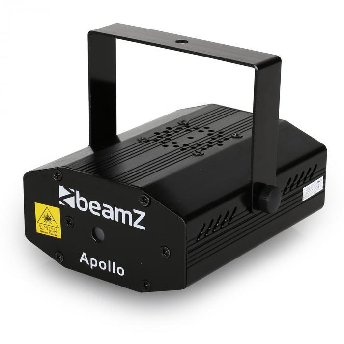 Apollo Mini Multipoint Effekt Laser RG Strobo Musiksteuerung