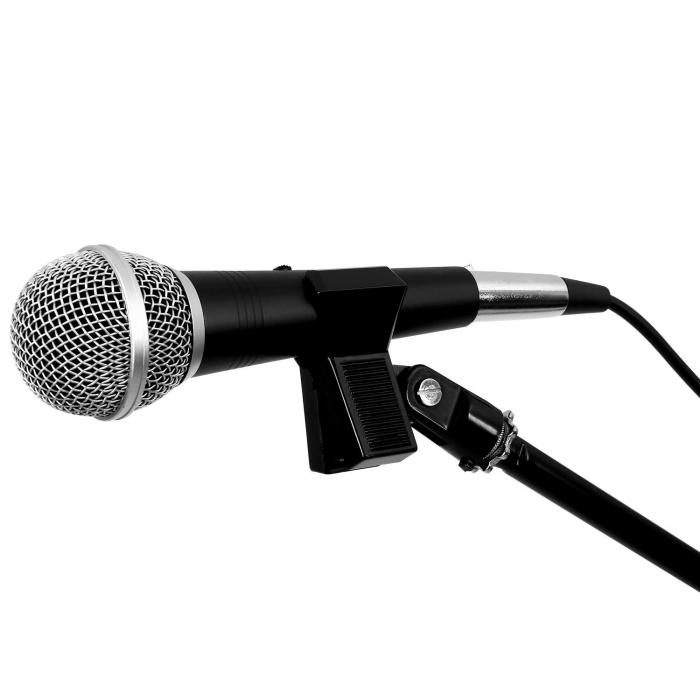 Microphone + Stand Tripod Carry Case Cable Set