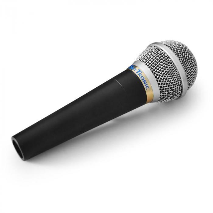 PA- ja studiomikrofonisetti mikrofoniteline ja tehokas mic.