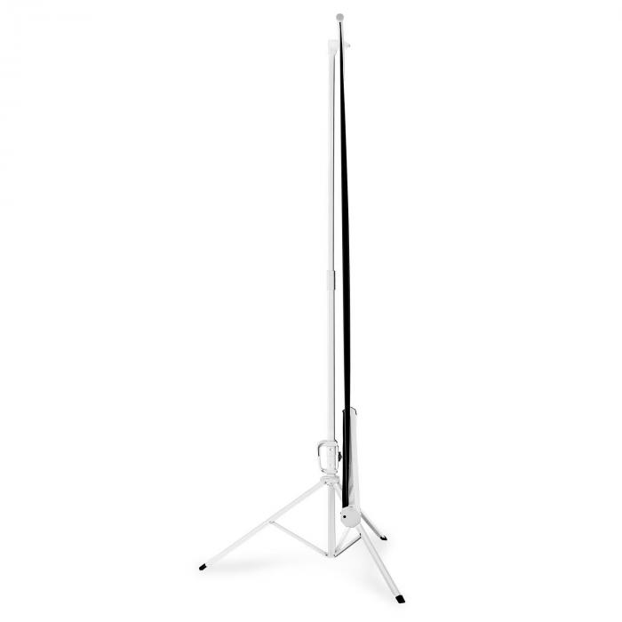 "96"" Portable Tripod Home Cinema Presentation Projector Screen - 170 x 170cm"