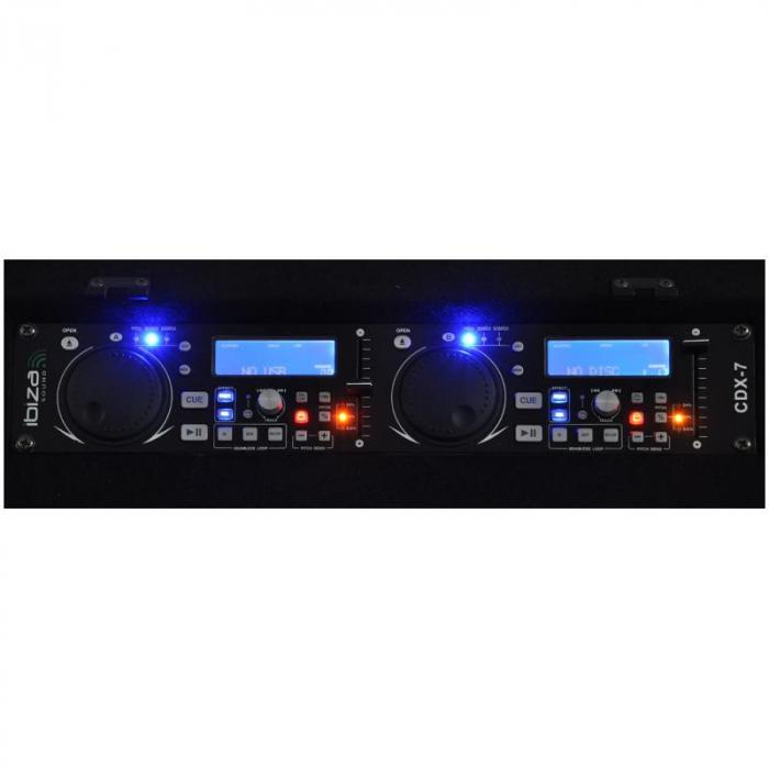 "Set DJ PA ""Punch Line"" 1200W 300 personas USB"