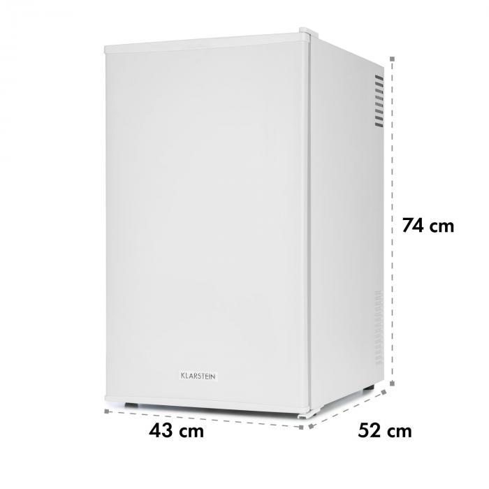 MKS-6 minibaari minijääkaappi luokka A 66 litraa vaaleanharmaa