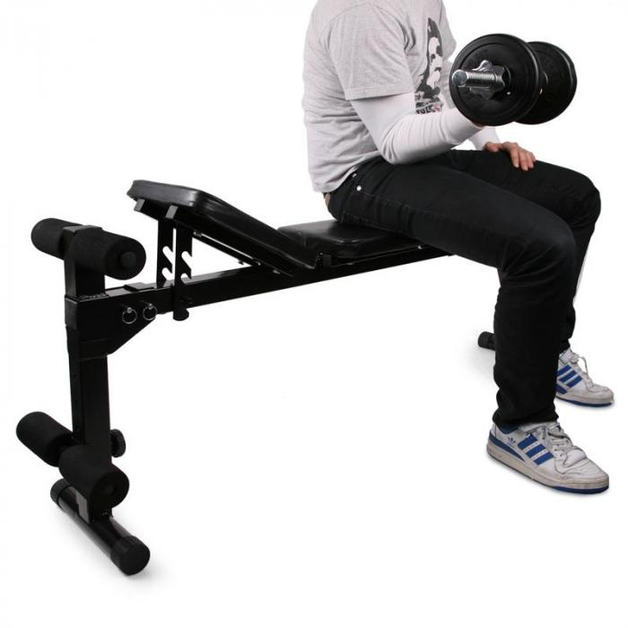 banc de musculation home trainer entra nement 125 cm electronic star fr. Black Bedroom Furniture Sets. Home Design Ideas