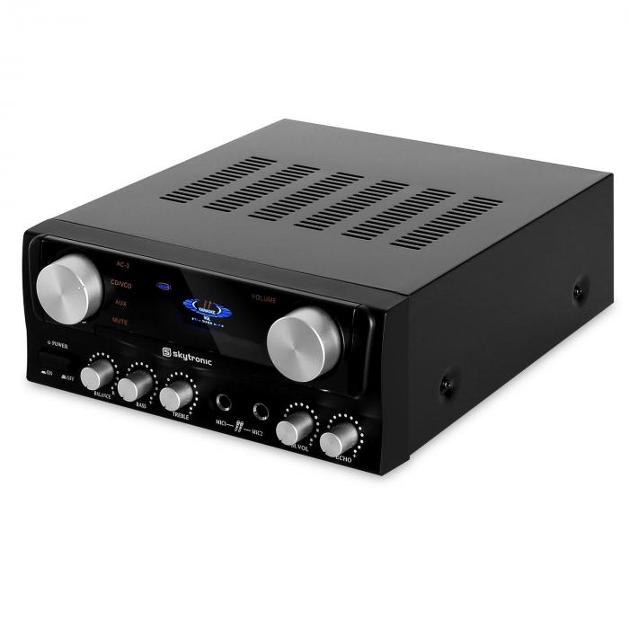 103.202 Amplificatore hi fi 2 ingressi RCA 400W