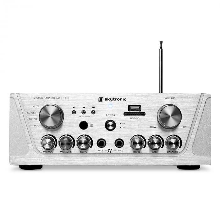 103.131 Compact Hi-Fi PA Karaoke Amplifier MP3 USB SD 400W