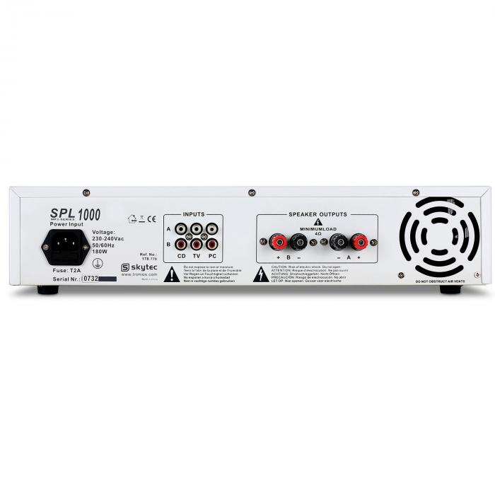 "Set DJ ""Polar Bear"" mixer amplificatore e casse 2200W"