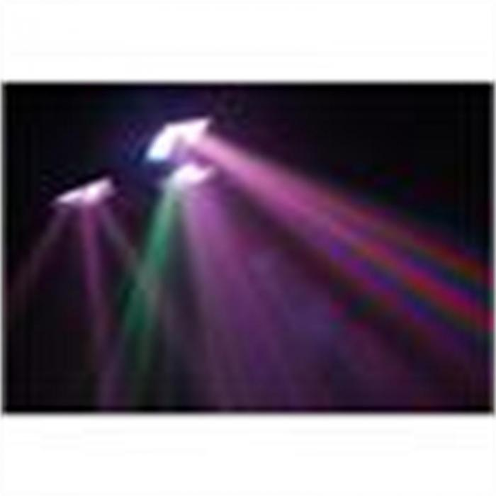 DMX Tripleflex LED-valoefekti DMX-ohjauksella